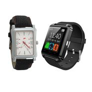 Combo of 1 Analog Watch + 1 Smart Watch_U8c01