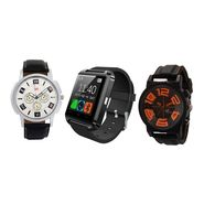 Combo of 2 Analog Watches + 1 Smart Watch_U8c03