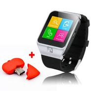 Combo of XElectron S29 Smart Watch Phone(Silver) + 4GB Pen Drive