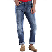 Guess Slim Fit Cotton Jeans For Men_Gb - Blue