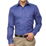 Copperline 100% Cotton Shirt For Men_CPL1191 - Blue