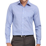 Copperline 100% Cotton Shirt For Men_CPL1206 - Blue