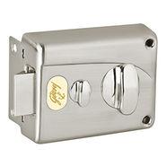 Godrej Premium Night 1CK Brushed steel Inside Opening Pin cylinder Technology (Brushed Steel)