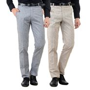 Pack of 2 American Elm Formal Trousers For Men_Tr01