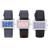 Pack of 3 Adine Analog Wrist Watches For Women_Combo02