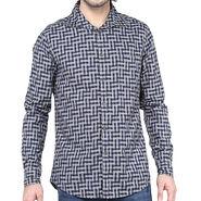 Crosscreek Full Sleeves Cotton Shirt For Men_1030320 - Navy Blue