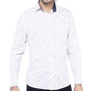 Crosscreek Full Sleeves Cotton Shirt For Men_1060307 - White