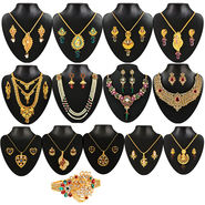 Kriaa 13 Jewellery Set With Free Kada_1002203
