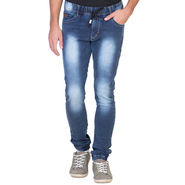 Slim Fit Stretchable Jeans For Men_Fpj161 - Blue