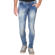 Slim Fit Stretchable Jeans For Men_Fpj167 - Blue