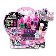 Glitter Glam Cosmetic Make up Play Set for Little Girls