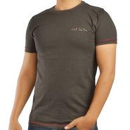 Paul Smith  Cotton Slim Fit Half Sleeves Tshirt_ytpsdg - Dark Green