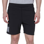 Adidas Plain Regular Fit Shorts_Adidasblk - Black