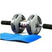 Ab Wheel Power Stretch Ab Roller & Slider For Abdominal Exercises