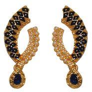 Kriaa Pearl Meenakari Earrings _1303112
