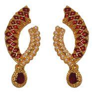 Kriaa Pearl Meenakari Earrings _1303114