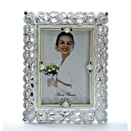 Embellished White Photo Frame-1309-0128