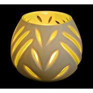 Contemporary Glass Tealight Holder-1309-0145H