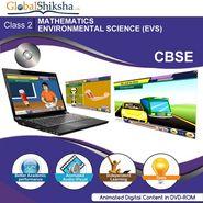 Globalshiksha Animated Educational DVD-ROM For Class 2