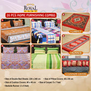 20 Pcs Home Furnishing Combo