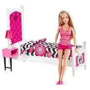 Mattel Barbie Doll and Bedroom Furniture Set