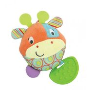 Winfun Patch the Giraffe Hand Rattle Multi Color