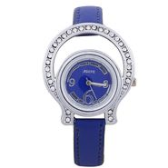 Adine Round Dial Analog Wrist Watch For Women_38bb08 - Blue