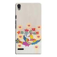 Snooky Digital Print Hard Back Case Cover For Huawei Ascend P6 Td12034