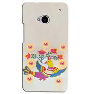 Snooky Digital Print Hard Back Case Cover For Htc One M7  Td12056