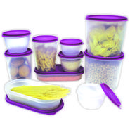 Princeware 10 Pcs Modular Container Set-Purple