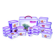 Princeware 20 Pcs Click & Seal Container Set