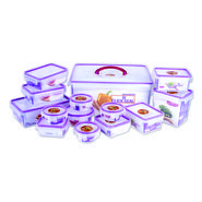 Princeware 14 Pcs Click & Seal Container Set
