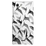 Snooky Digital Print Hard Back Case Cover For Sony Xperia J Td12760
