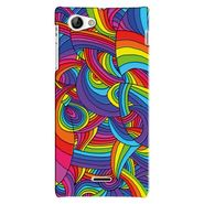 Snooky Digital Print Hard Back Case Cover For Sony Xperia J Td12778