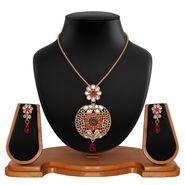 Vendee Fashion Stylish Pendant Set - Multicolor