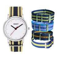 Special Watch With 5 Changeable Straps_AD2497