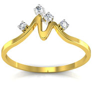 Ag Real Diamond Khushboo Ring_AG0009y