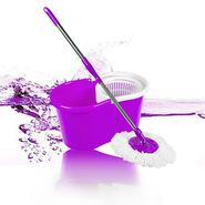 Anmol Purple Cleaning Mop with Steel Rod