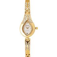 Adine Wrist Watch For Women AD-101 (White)