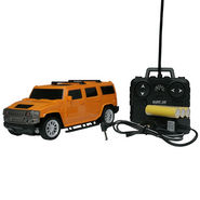 AdraXx 1:24 Scale Popular SUV RC Toy Car With Rechargeable Batteries - Yellow