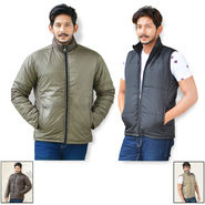 American Indigo Reversible Set of 2 Jackets For Men