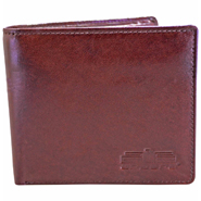Leather Wallet For Men - Brown_C11438-2