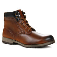 Bacca bucci High Ankle Length Boots - Genuine Leather - Brown-5157
