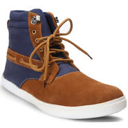 Bacca Bucci Canvas Brown Casual Shoes -Bbmb3094C
