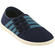 Bacca Bucci Canvas Blue Casual Shoes -Bbmb3134B