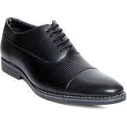 Bacca Bucci Synthetic Leather Black Formal Shoes -bbn44