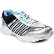 Bacca Bucci Mesh Silver Sports Shoes -Bbmg8026T