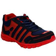 Bacca Bucci PU & Mesh  Sport Shoe  Bbmg8102J -Red