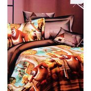 Amore 3D Double BedSheet With 2 Pillow Cover-BD3D14