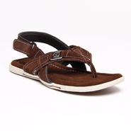 Bacca bucci Leather Sandals - Brown-4314